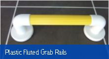 Plastic Fluted Grab Rails