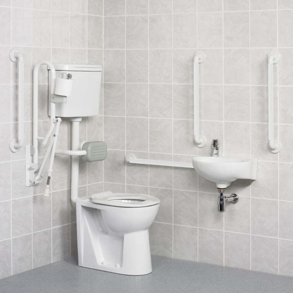 White DOC M Pack Disabled Bathrooms MCL Kent