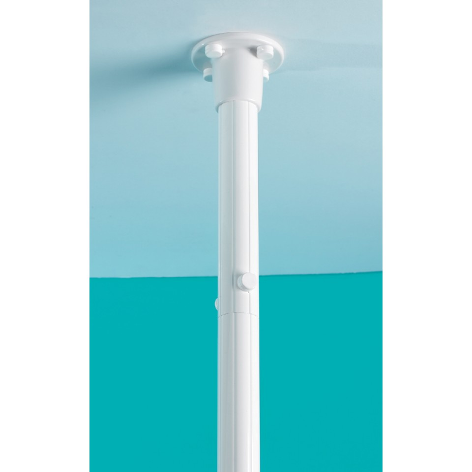 Upright Pole Shower Curtain Disabled Bathrooms MCL Kent