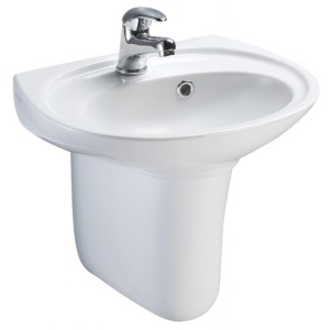 Basin Half Pedestal Disabled Bathrooms MCL Kent