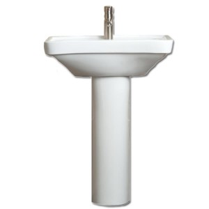 Basin Full Height Pedestal Disabled Bathrooms MCL Kent