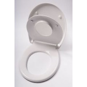 White Toilet Seat Disabled Bathrooms MCL Kent