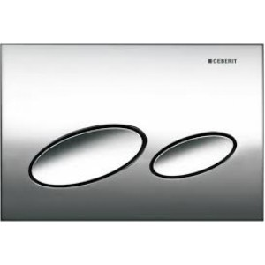 Geberit Kappa 20 Chrome Flush Plate