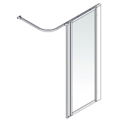 AKW Option HFW Shower Screen Set
