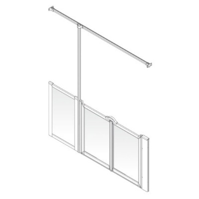 AKW Option TT Shower Screen Set