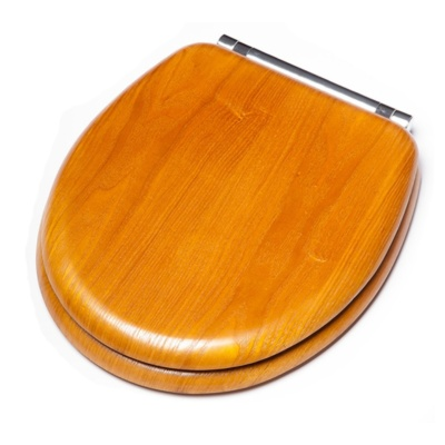 Disabled Bathrooms Wooden Toilet Seat with Lid MCL Kent