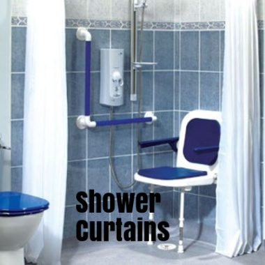 Shower Curtains & Rails