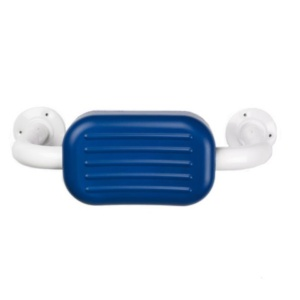 AKW Heavy Duty Padded Back Rest - Blue