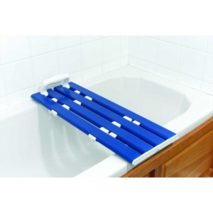 AKW Tromode 700mm four slatted bath board blue (Handles not included)