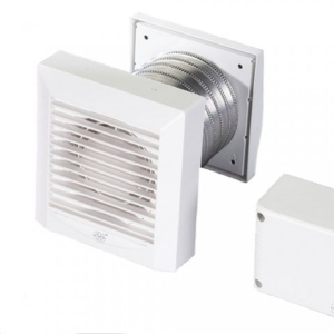 AKW100T Bathroom Fan - Timer Control