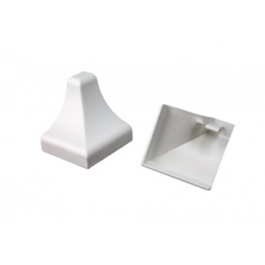 AKW Coving End Caps (Pair) for Trade Wall Panels