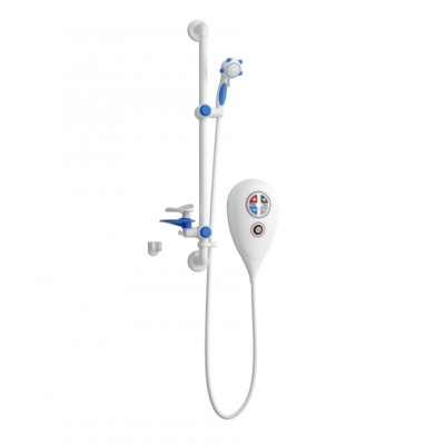 Luda 10kW Shower Kit (White)