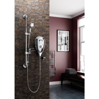 Luda S 10kW Shower Kit (Chrome)
