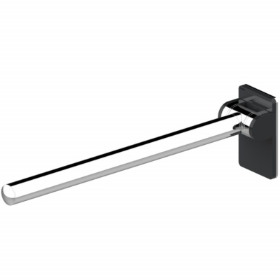 Onyx Fold Up Support Rail – Chromed Black