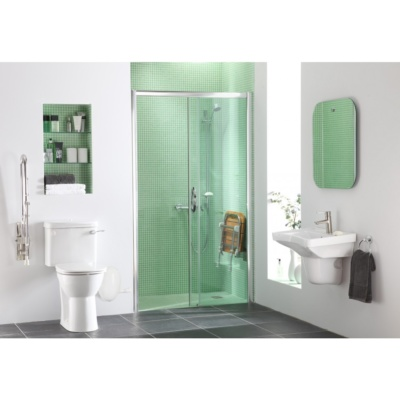 Larenco Single Sliding Shower Screen