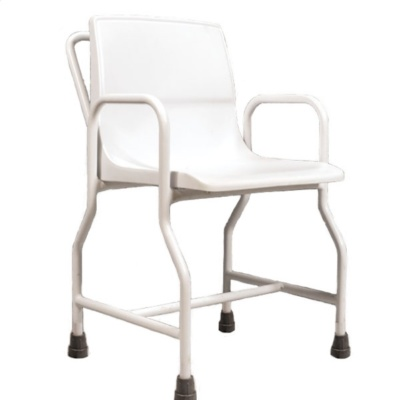 AKW Portable Shower Chair with Rubber Feet