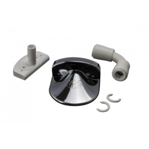 Chrome Pumped Waste Pick Up Assembly