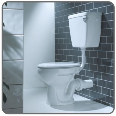 AKW Standard Height Low Level WC Suite