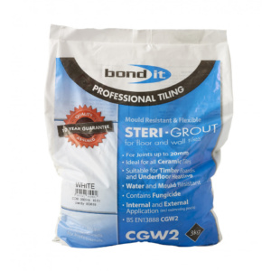 Bond it Steri-Grout for Floor and Wall Tiles (3kg bag)