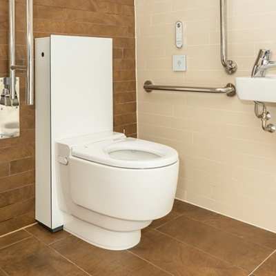 Geberit AquaClean Mera Care floor standing WC White Alpine