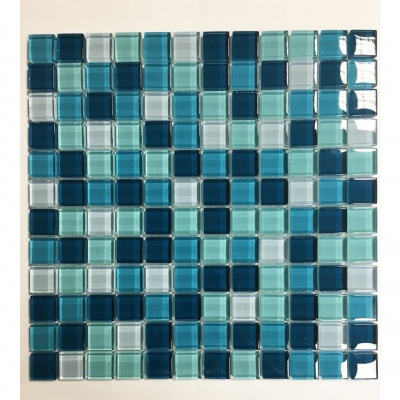 AKW Blue Mosaic Border Tile 300x300x8mm (0.9sqm)