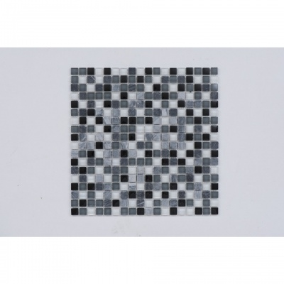 AKW Grey Mosaic Border Tile 300x300x8mm