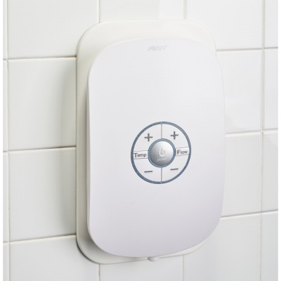 AKW Electric Showers Halo Wall Plate